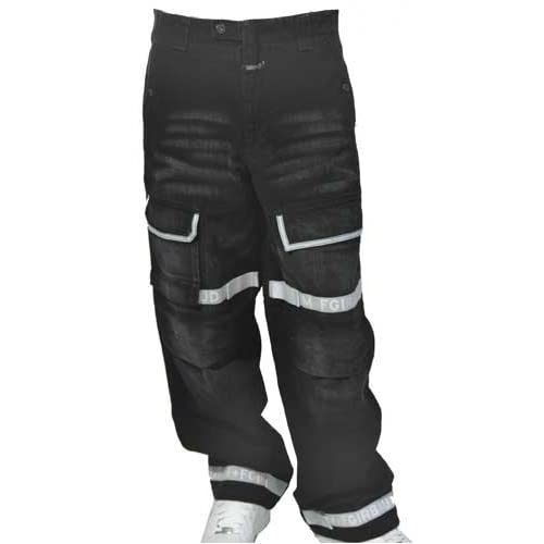Girbaud Black Taped Shuttle Jeans at Amazon Men's Clothing