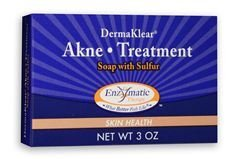 Enzymatic Therapy Derma Klear Akne Treatment Soap, 3 oz