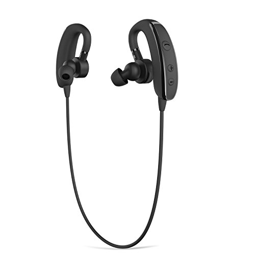 bluetooth headphones matone v4 1 wireless bluetooth headset dual ear retractable earbuds. Black Bedroom Furniture Sets. Home Design Ideas