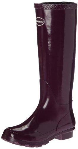 Havaianas - Helios Rain Boots, Stivali di gomma donna, color Viola (Violett - Aubergine), talla 37 EU (35 BR)