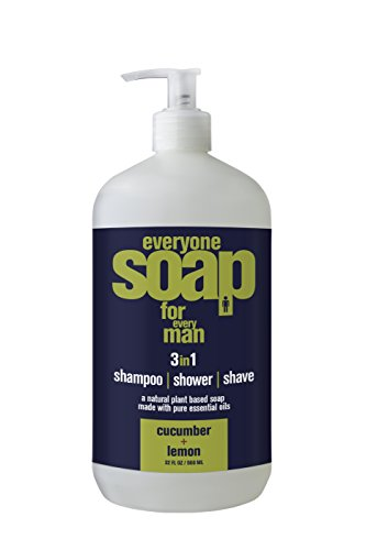 Everyone Soap for Every Man, Cucumber and Lemon, 32 Ounce