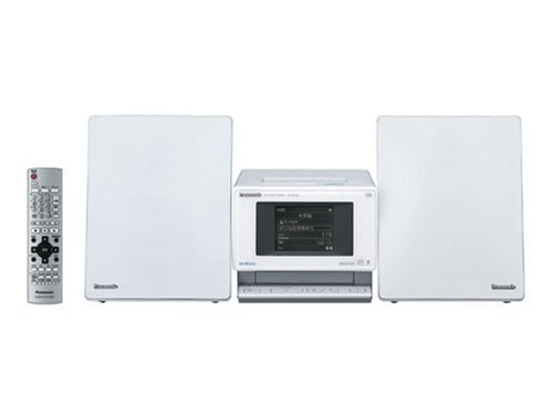 Panasonic D-dock SD stereo system 80GB SC-SX450-W white...