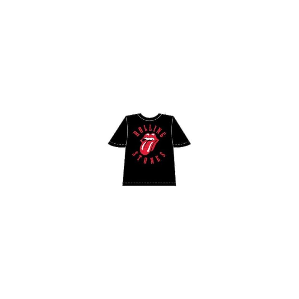 Rolling Stones T Shirts Tongue Logo   Medium