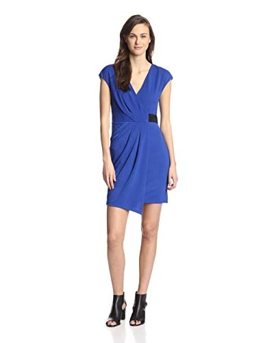 A.B.S. by Allen Schwartz Women's Faux Wrap Dress