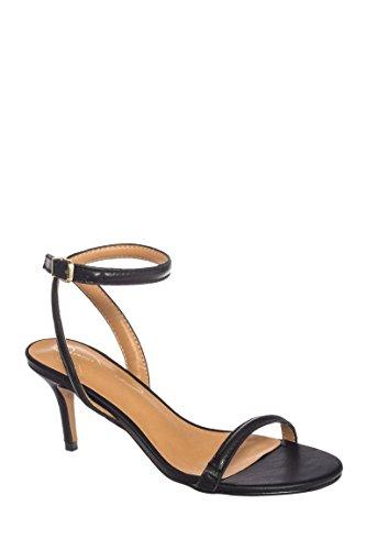 Neeley Mid Heel Ankle Strap Sandal