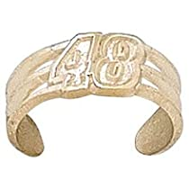 Logoart Jimmie Johnson 10K Number Toe Ring