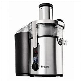 Breville BJE510XL ikon Five-Speed Juice Fountain ** REFURBISHED**