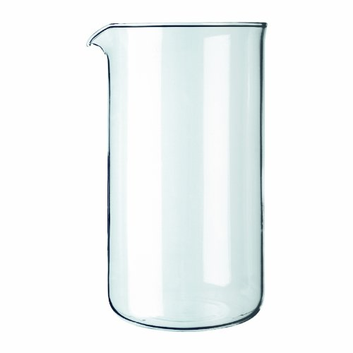 Bodum Spare Glass Carafe for French Press Coffee Maker, 8-Cup, 1.0-Liter, 34-Ounce (Press Pot Carafe compare prices)