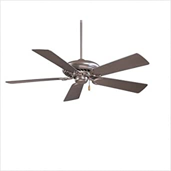 "Bundle-98 44"" Supra 5 Blade Ceiling Fan Finish: Oil Rubbed Bronze with Medium Maple Blades"