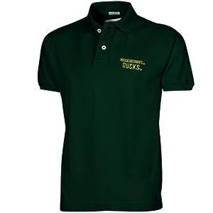 NCAA Oregon Ducks Ridge Polo Shirt - Green by Colosseum