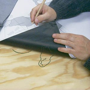 2 Large Sheets Of 34 X 22 Carbon Woodworking Paper