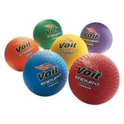 Voit Enduro Playground Ball, Green, 8 1/2-Inch