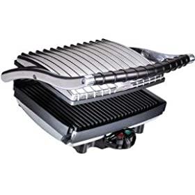 Villaware 2160 UNO ProPress Contact and Panini Grill