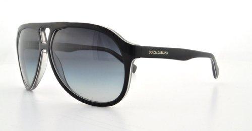 D&G Dolce & Gabbana 0Dg4169P Aviator Sunglasses,Top Black & Grey,61 Mm