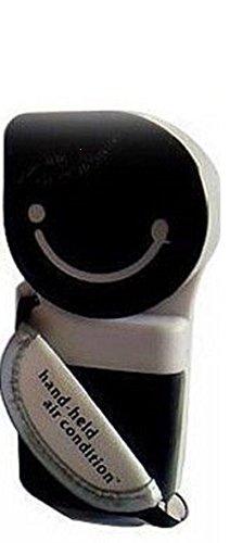 Gadget Hero's Mini Portable Hand Held Humidifier Air Conditioner Fan Evaporative Cooler Black