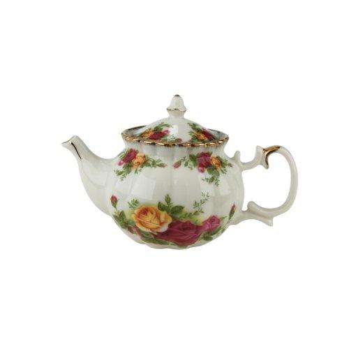 Royal Albert Old Country Roses Short Mini Teapot Votives (Old Country Roses Teapot compare prices)
