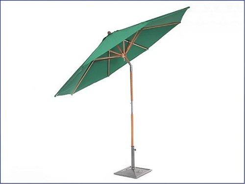 Nyatoh Schirm 270 cm, rund, 38 mm Pfosten, grün jetzt kaufen