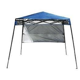 Quik Shade Go Hybrid Backpack Canopy (Blue), 6 Feet X 6 Feet