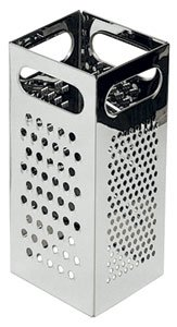 NEW, Four (4) Side Stainless Steel Box Grater, Cheese Grater, Vegetable Grater, Slicer,... by Update International