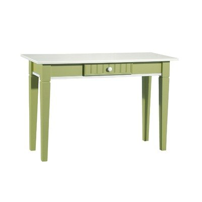 Cheap Console Table in White & Lime Green (FS-81-GR)