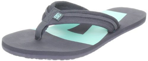 DC Women's Central Battleship/Blue Bird Flip Flops D0303364 4 UK, 37 EU, 6 US