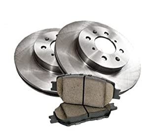 1992 - 2005 Chevrolet Cavalier Front Brake Pads and Brake Rotors OEM Replacement Direct Fit Brake Kit