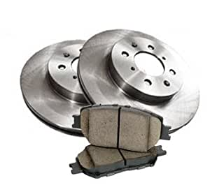2005 - 2006 Chrysler Crossfire SRT-6 Rear Brake Pads and Brake Rotors OEM Replacement Direct Fit Brake Kit