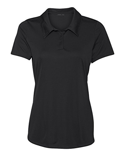 Women 39 s dry fit golf polo shirts 3 button golf polo 39 s in for Women s dri fit polo shirts wholesale