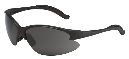 3M Virtua V6 Anti-Fog Safety Glasses, Black Frame, Gray Lens image