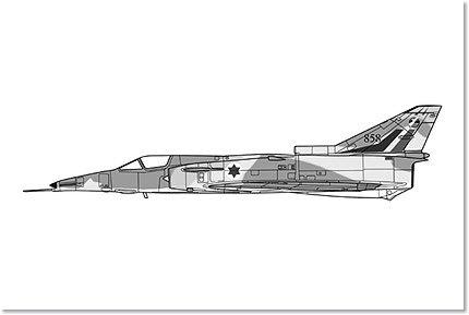 Hasegawa 1/72 KFIR C2 143rd Squadron Model Airplane