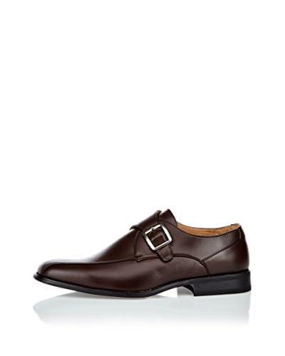 Goor Zapatos Monkstrap Nuez