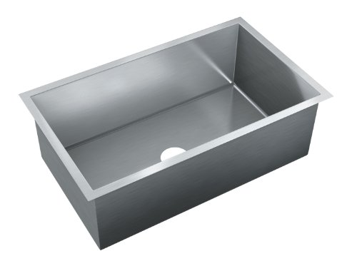 Just JZRS-1830 Single Bowl 16-Gauge T-304 Stainless