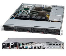 Supermicro A+ Server AS-1022G-URF - SC815TQ-R700UB