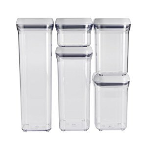 POP CONTAINER SET 5PC (Pkg of 3) (Oxo Pop Spaghetti compare prices)