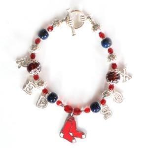 Red Sox Charm Bracelet - MLB Bracelets