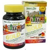 Nature'S Plus Animal Parade Gold Assorted Pack Of 3 - 60 Chewable Tablets
