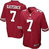 San Francisco 49ers NFL Colin Kaepernick Game Red Game Day Replica Jersey