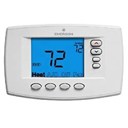 1F95EZ-0671 White Rodgers Emerson Blue Easy Reader Universal Thermostat