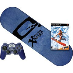 Q-motions Qmotions Inc. Xboard Full Motion Video Game Controller For Ps2 - Includes Ssx3 Game For Play Stat