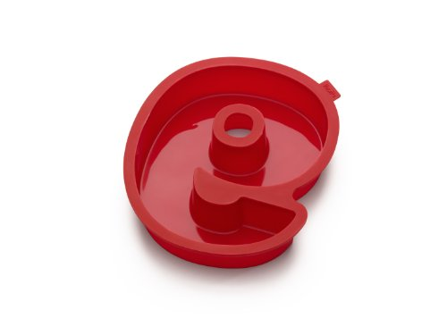Lekue Number 9 Cake Mold, Red