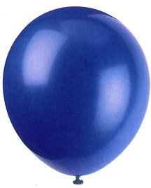 "Balloons - 12"" Latex Balloons - 144/Bag - Birthday Party/Wedding Celebration - Royal Blue"