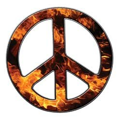 Peace Decal in Inferno - 12