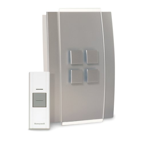 Honeywell RCWL3501A1004/N Decor Wireless Door Chime and Push Button
