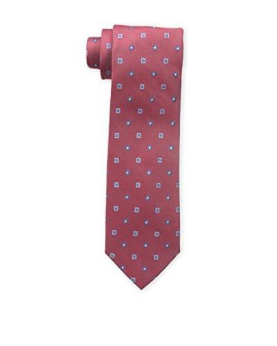 Bruno Piattelli Men's Neat Small Floral Tie, Red