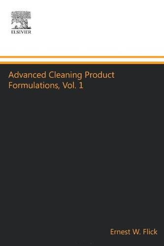 Avanzadas de limpieza producto formulaciones, Vol. 1