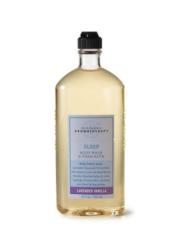 Bath and Body Works Aromatherapy Sleep Body Wash and Foam Bath Lavender Vanilla