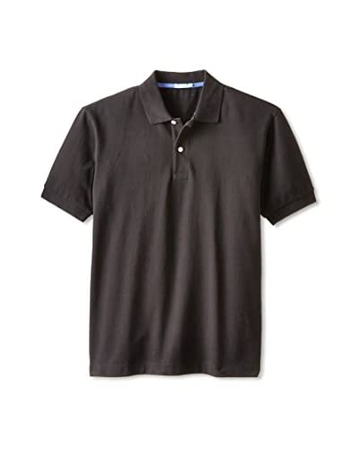 J. McLaughlin Men's Mini Pique Polo