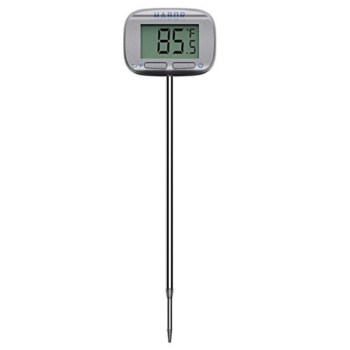 Habor Digital Meat Thermometer 5 Second Instant Read Head-Rotate Cooking Thermometer for Candy Grill