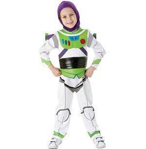 Rubies Toy Story Buzz Lightytear Kids Fancy Dress 5/6 Medium Deluxe
