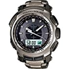 Casio Protrek Triple Sensor Solar Power Titanium Watch PRG-510T-7
